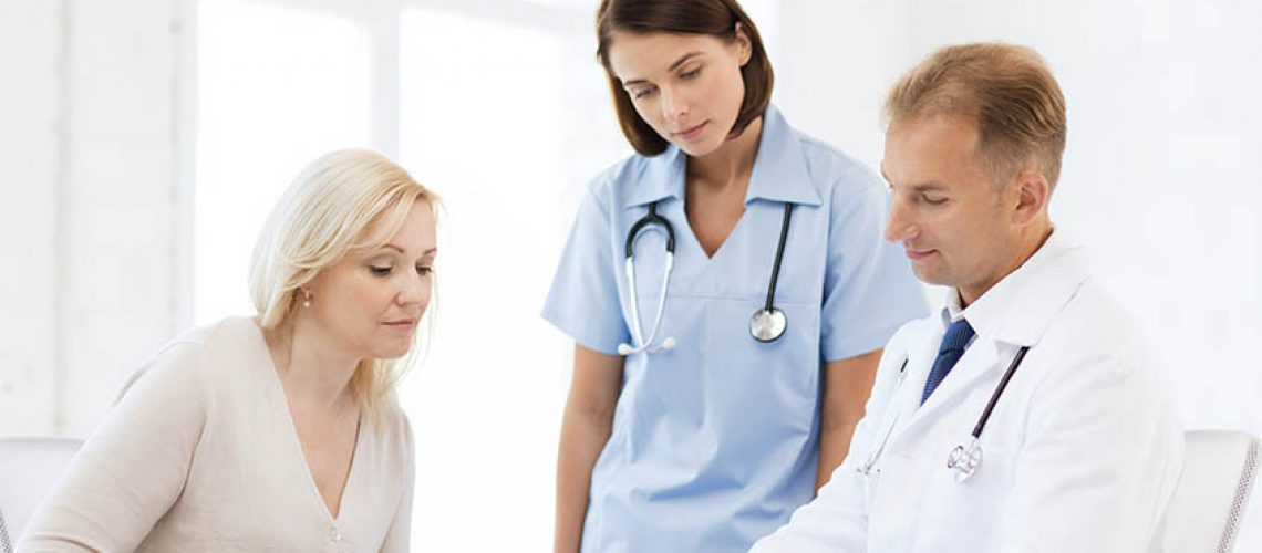 doctor consult with colleague