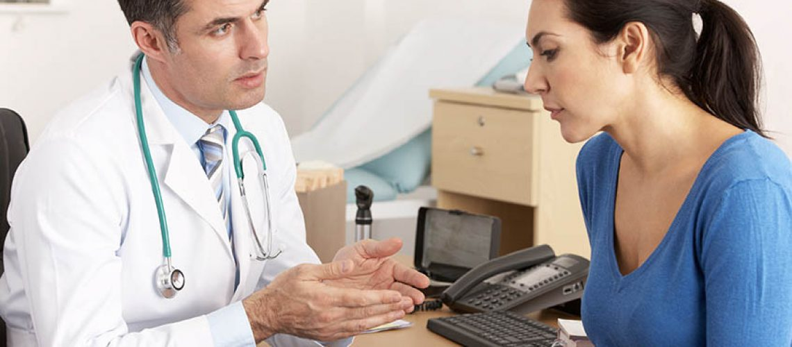 doctor consulting with a patient